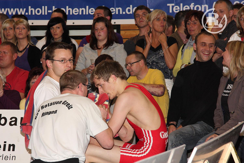 2.Bundesliga Nord: RSV Rotation Greiz gegen FC Erzgebirge Aue 20:14