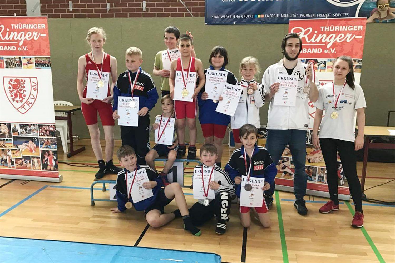RSV Rotation: Jüngste Greizer Ringer bei Thüringer Meisterschaften vorn