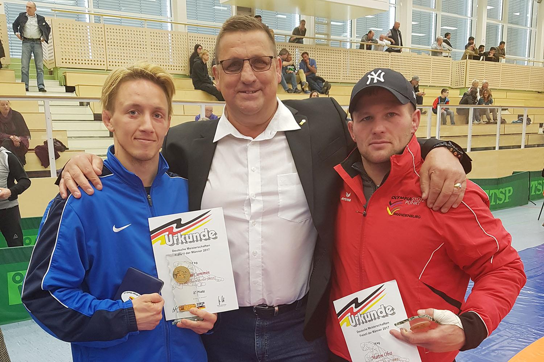 Martin Obst schafft Hattrick bei deutscher Meisterschaft