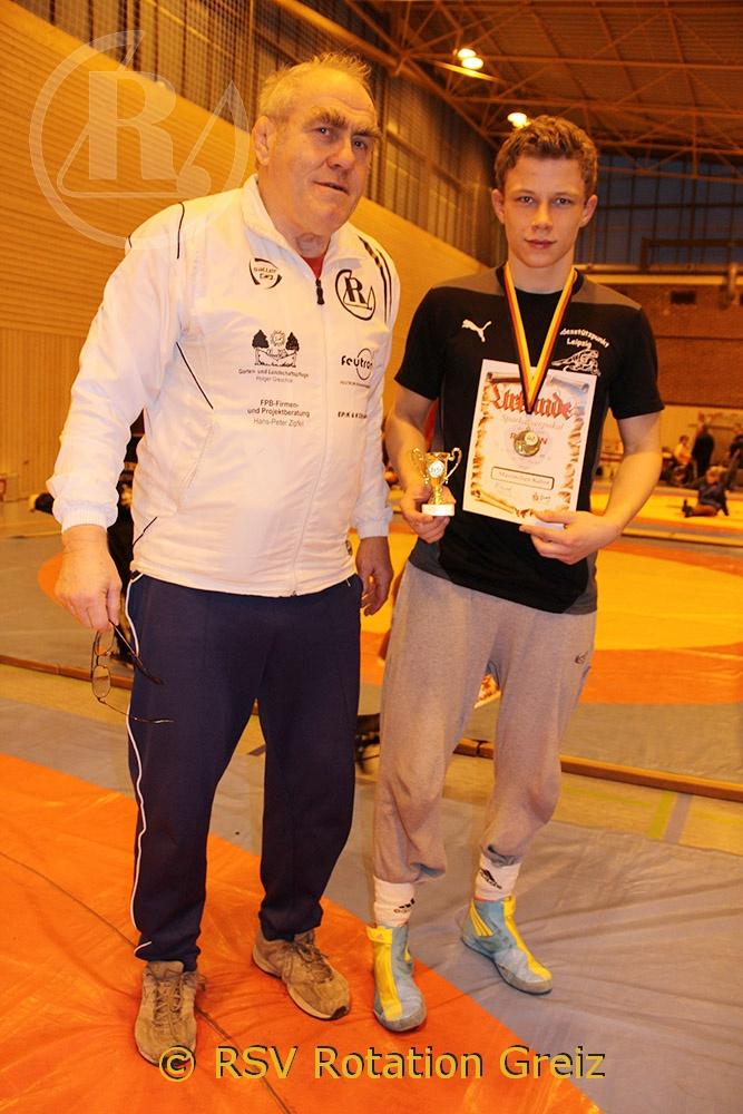 Greizer Ringer gewinnen 8 Goldmedaillen in Jena