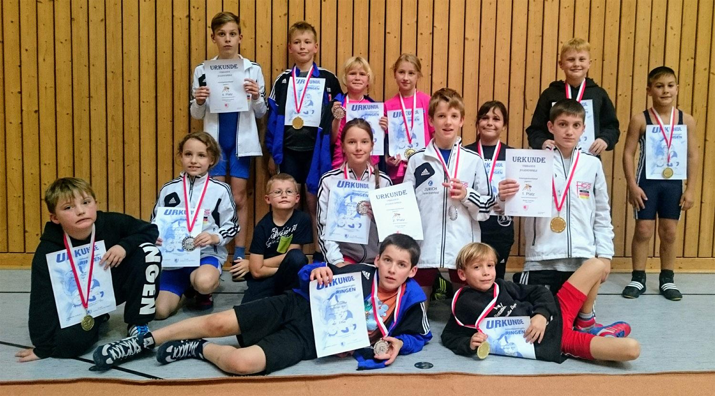 Greizer Nachwuchsringer mit elf Medaillen bei den Landesjugendspielen
