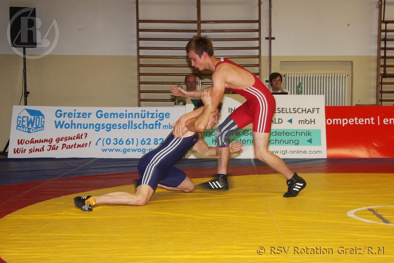 Thüringenliga Ringen: RSV Rotation Greiz II gewinnt gegen FC Erzgebirge Aue II mit 31:0