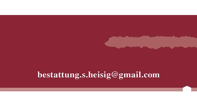 Bestattungsinstitut Weberstraße - Inhaber Sven Heisig e.Kfm.