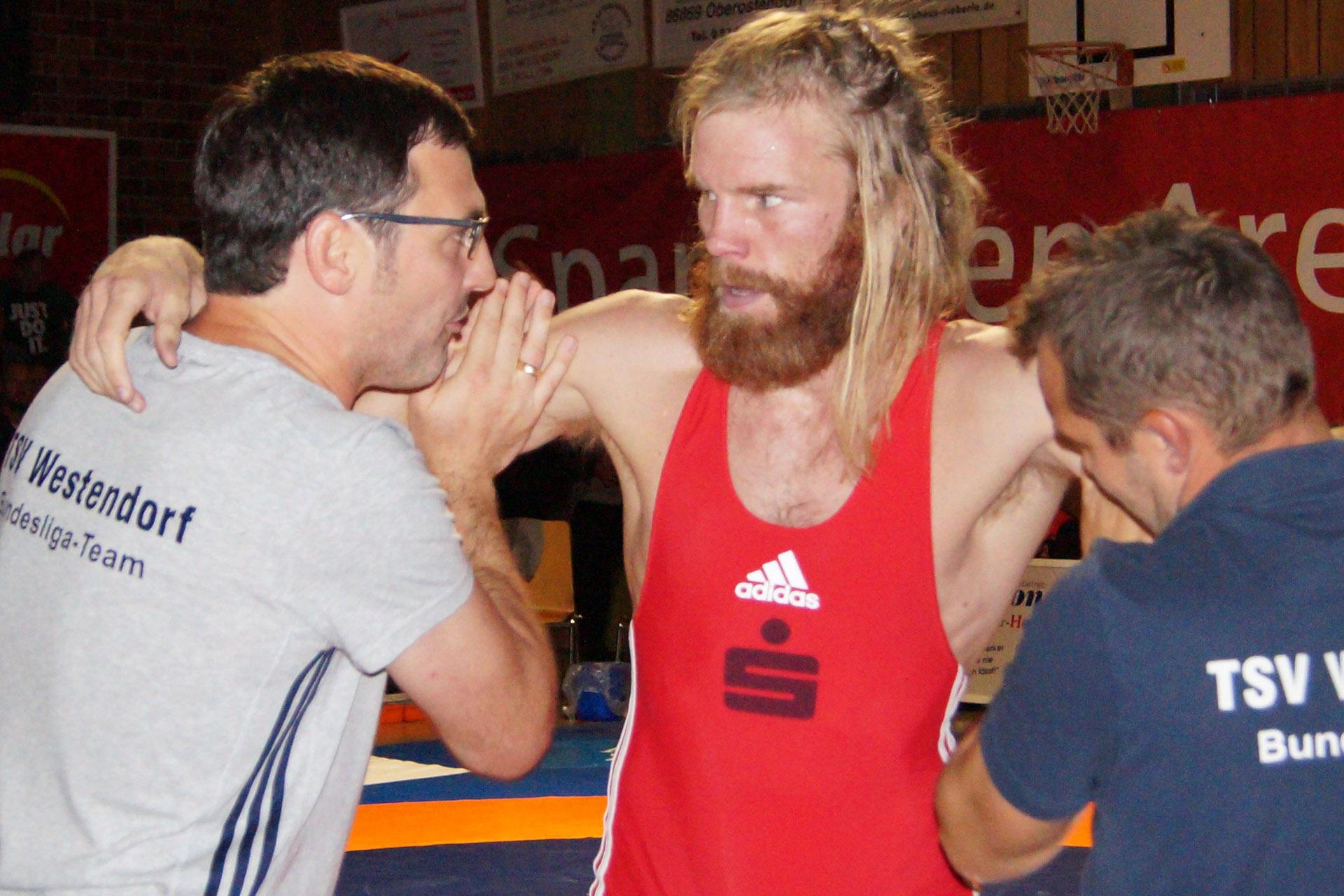 Westendorfs Trainer Klaus Prestele kennt sich in Greiz aus