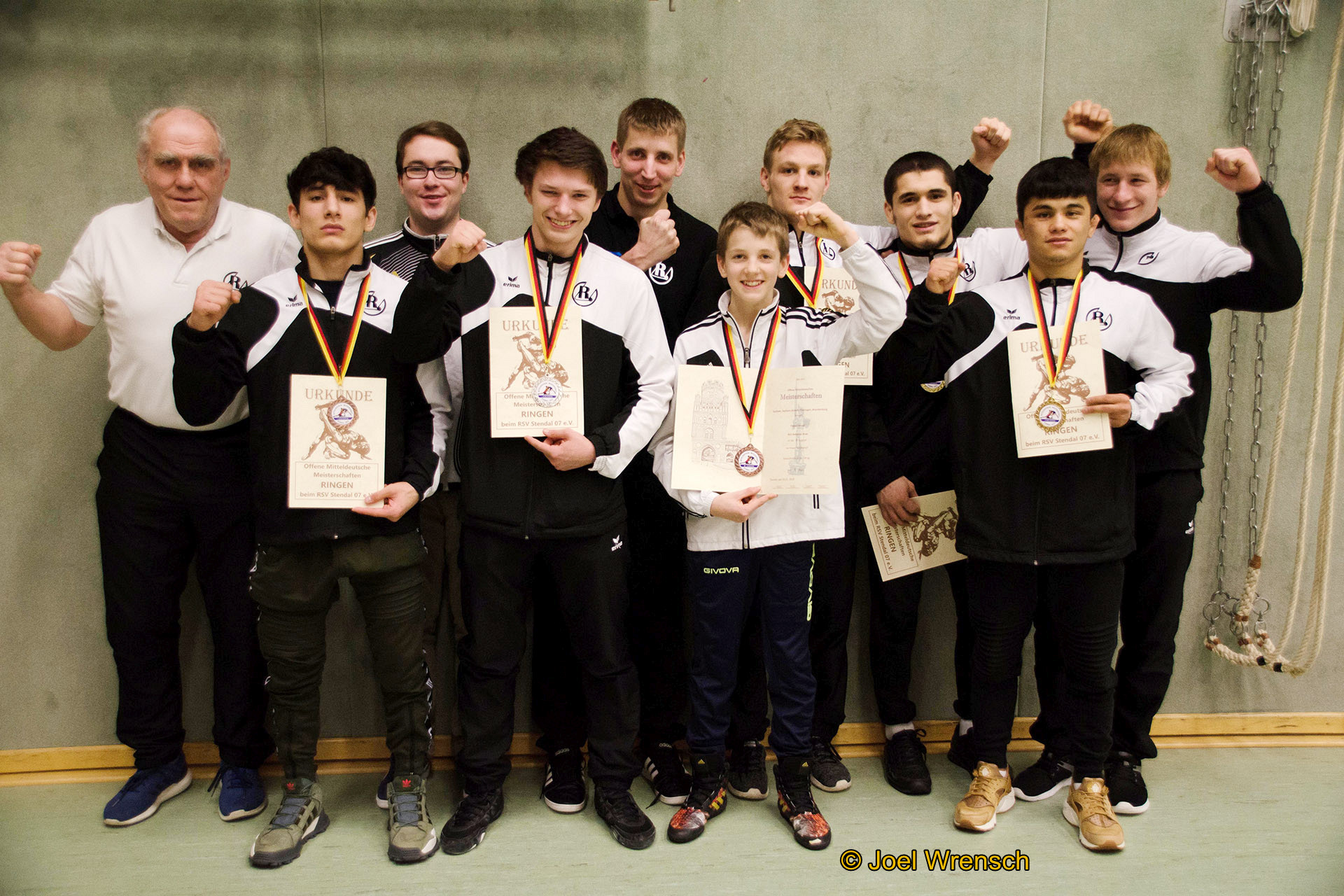 Mitteldeutsche Meisterschaften der Ringer in Stendal